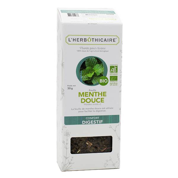 L' Herbothicaire L'Herbôthicaire Tisane Menthe Douce Bio 30g
