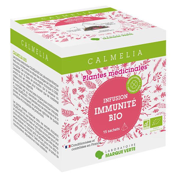 Calmelia Infusion Immunité Bio 15 sachets