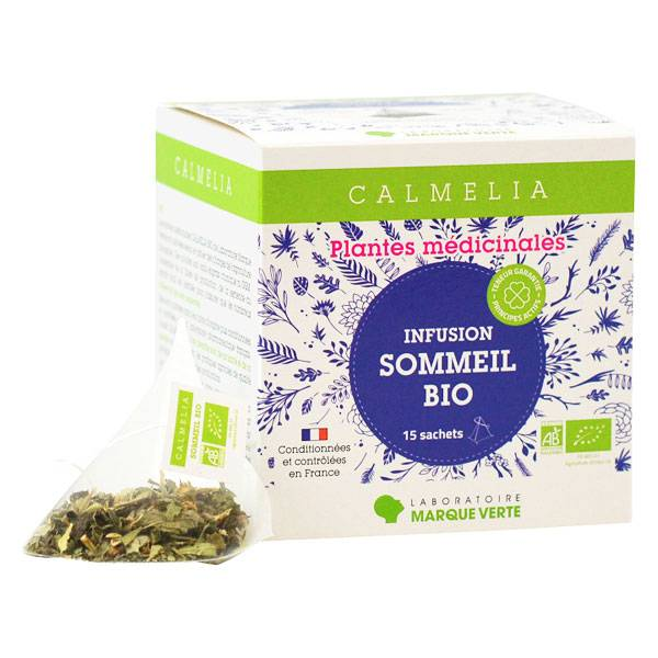 Calmelia Infusion Sommeil Bio 15 sachets