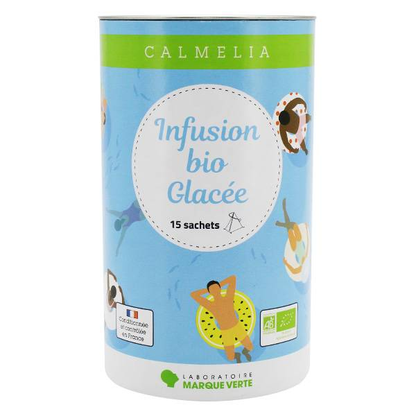 Calmelia Infusion Glacée Bio 15 sachets