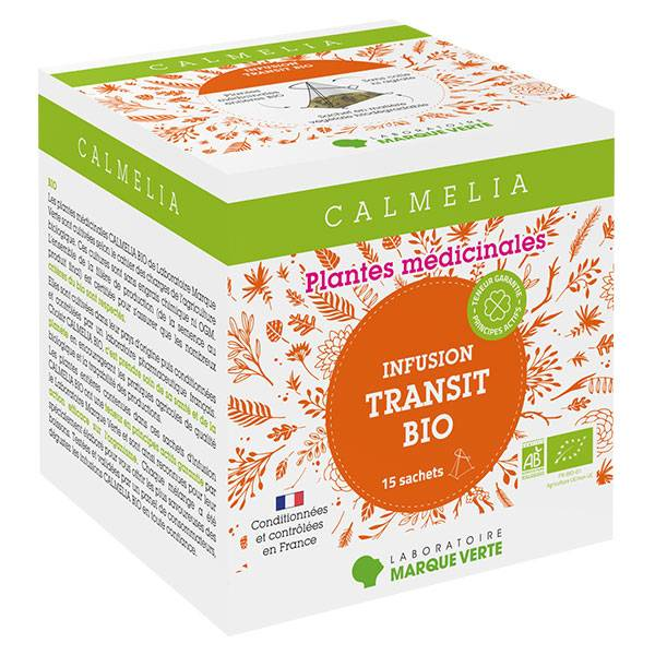 Calmelia Infusion Transit Bio 15 sachets
