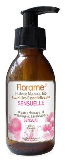 Florame Aromathérapie Huile Massage Sensuelle Bio 120ml
