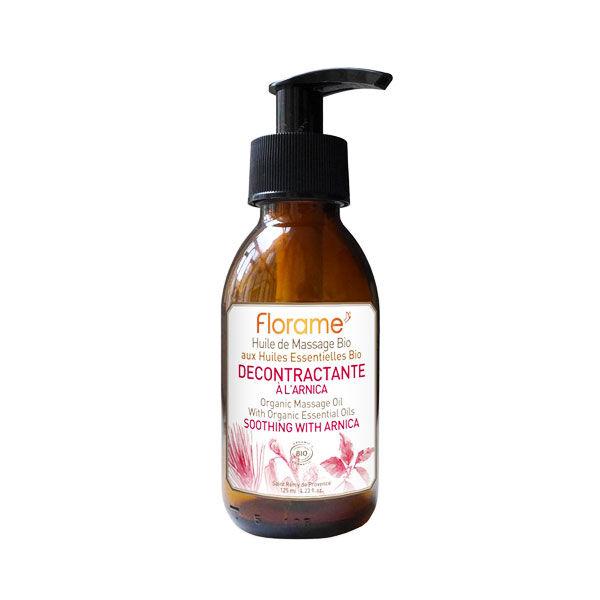 Florame Aromathérapie Huile Massage Décontractante Arnica Bio 120ml