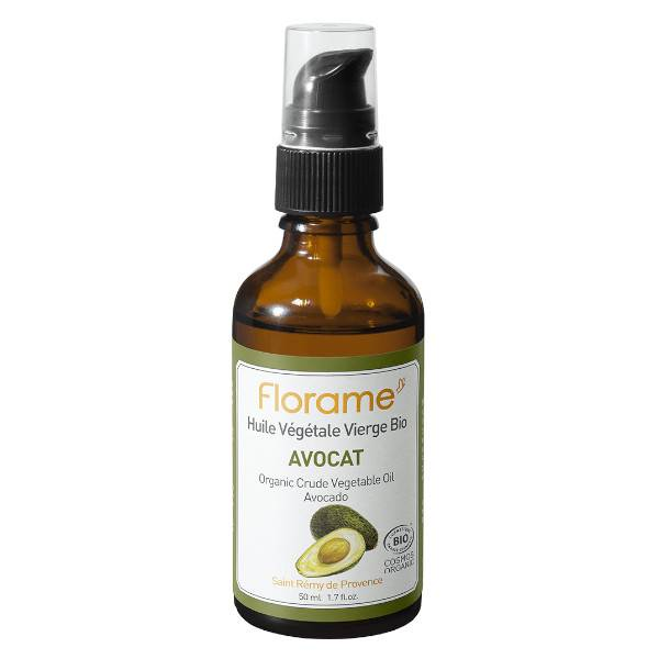 Florame Aromathérapie Huile Végétale Avocat Bio 50ml