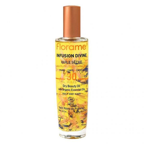Florame Infusion Divine Huile Sèche 30 Ans Cosmos 100ml