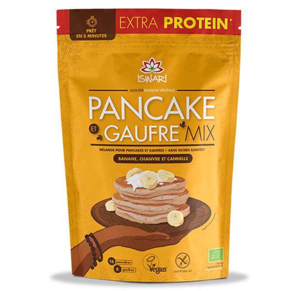 Iswari Pancake et Gaufre Mix Chanvre et Cannelle 400g