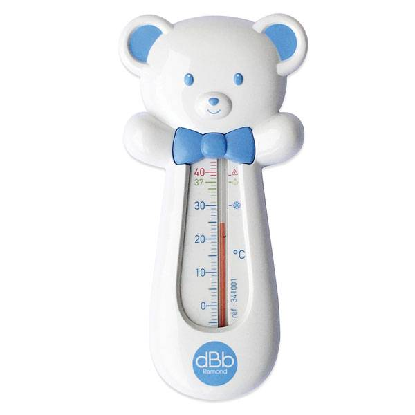 dBb Remond Thermomètre de Bain Ourson Bleu