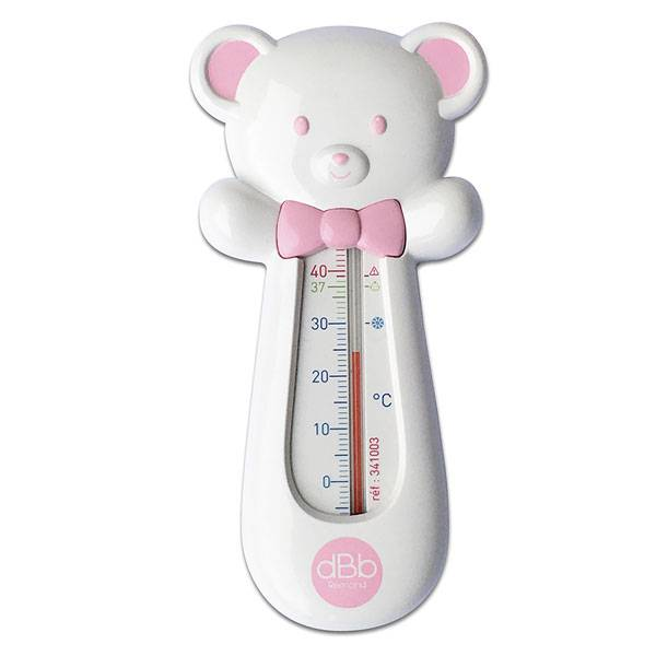 dBb Remond Thermomètre de Bain Ourson Rose