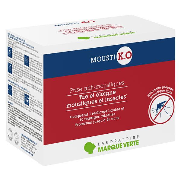MoustiKologne Mousti K.O Prise Anti-Moustiques Double Usage