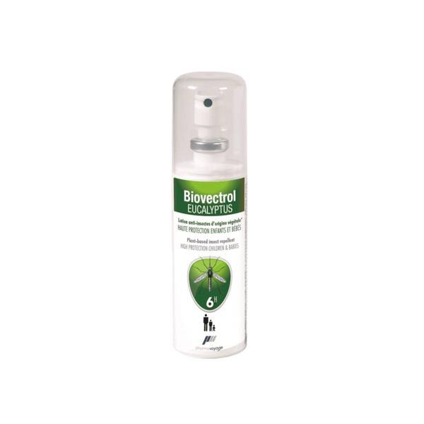 Pharmavoyage Biovectrol Eucalyptus Lotion Anti-Insectes 80ml