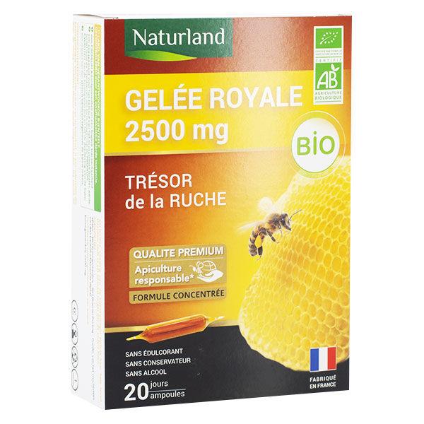 Naturland Gelée Royale 2500mg Bio 20 ampoules