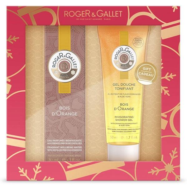 Roger & Gallet Bois d'Orange 30ml + Coffret Gel Douche 50 ml Offert