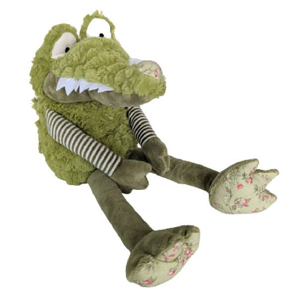 Sänger Bouillotte Micro-Ondable Peluche Christopher Crocodile