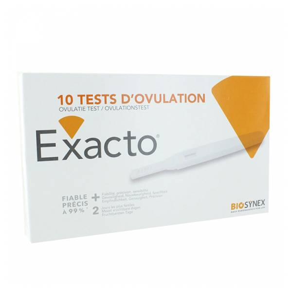 Exacto Test d'Ovulation 10 Tests