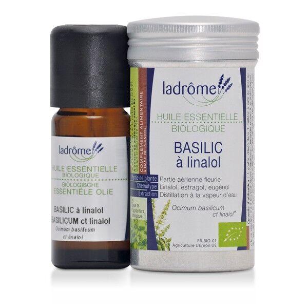 Ladrôme Huile Essentielle Basilic Bio 10ml