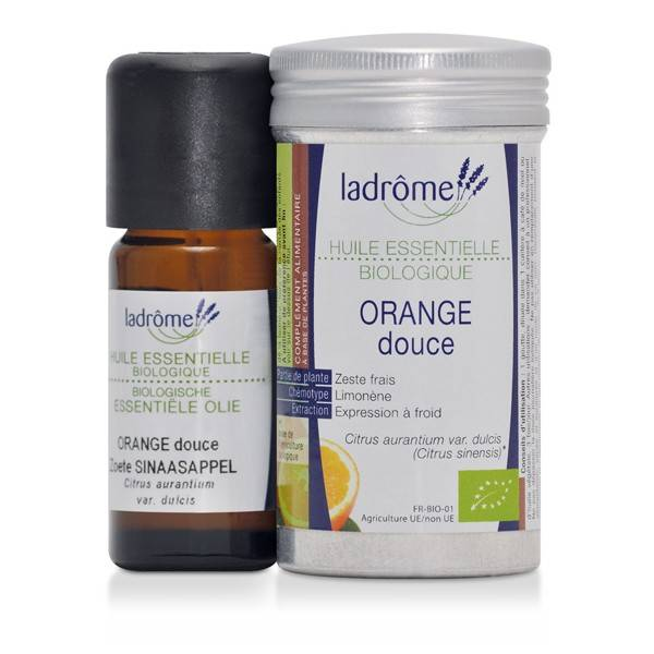 Ladrôme Huile Essentielle Orange Douce Bio 10ml