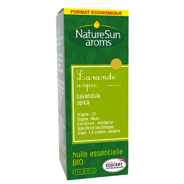 NatureSun Aroms Huile Essentielle Bio Lavande Aspic 30ml