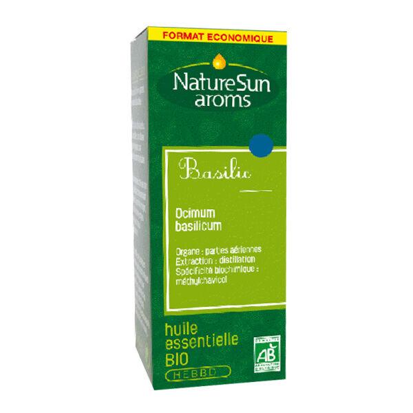 NatureSun Aroms Huile Essentielle Basilic Bio 30ml