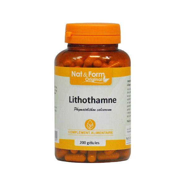 Nat & Form Original Lithothamne 200 gélules