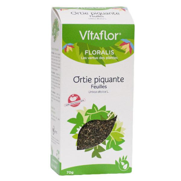 Vitaflor Bio Vitaflor Floralis Infusion Ortie Piquante Feuilles 70g