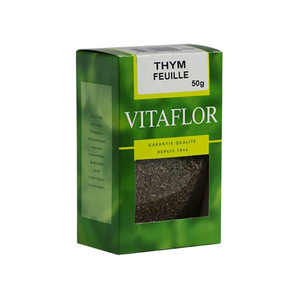 Vitaflor Bio Vitaflor Infusion Thym Feuille 50g