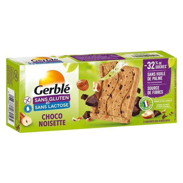 Gerblé Sans Gluten & Sans Lactose Biscuits Pépites Chocolat Noisette 150g