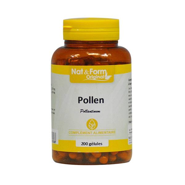 Nat & Form Original Pollen 200 gélules