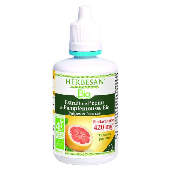 Herbesan Extrait Pépins de Pamplemousse Bio 50ml