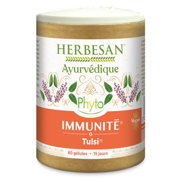 Herbesan Ayurvedique Phyto Immunité Tulsi 60 gélules