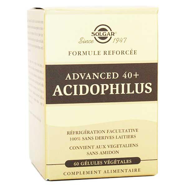 Solgar Advanced 40 Plus Acidophilus 60 gélules végétales