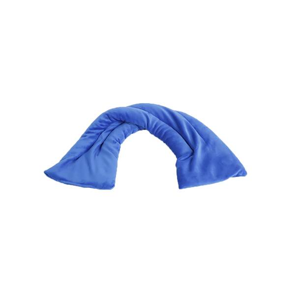 Pelucho Tour de Cou Bouillotte Bleu Roi