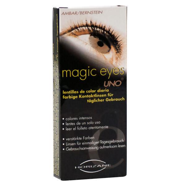 Vitalens Magic Eyes Lentilles de Contact Uno Noisettes 1 paire