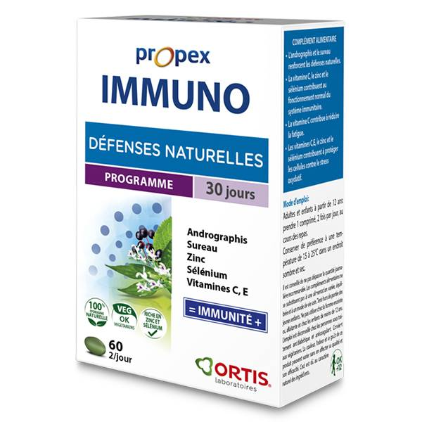 Ortis Propex Immuno 60 comprimés