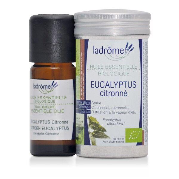 Ladrôme Huile Essentielle Eucalyptus Citronné Bio 10ml