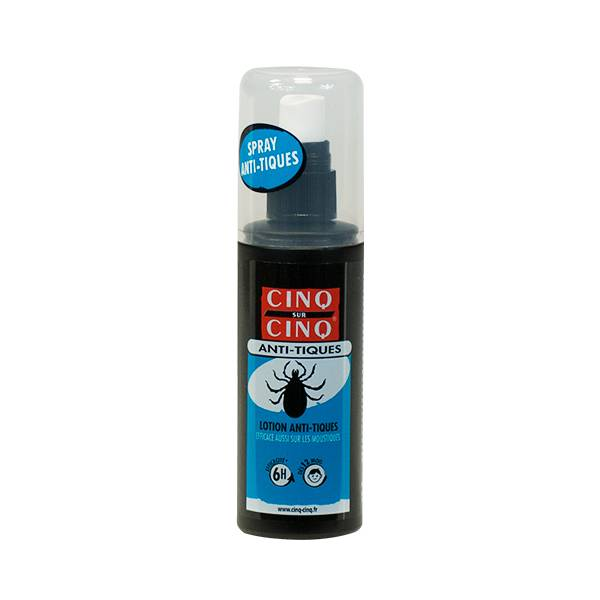 Cinq Sur Cinq Anti-Tiques Spray 100ml