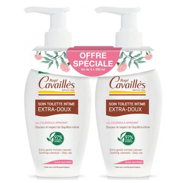 Rogé Cavaillès Soin Toilette Intime Extra-Doux Lot de 2 x 250ml