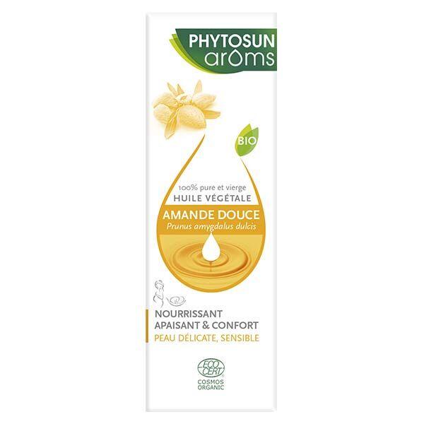 Phytosun Arôms Huile Végétale Amande Douce Bio 50ml