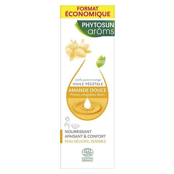 Phytosun Arôms Huile Végétale Amande Douce Bio 100ml