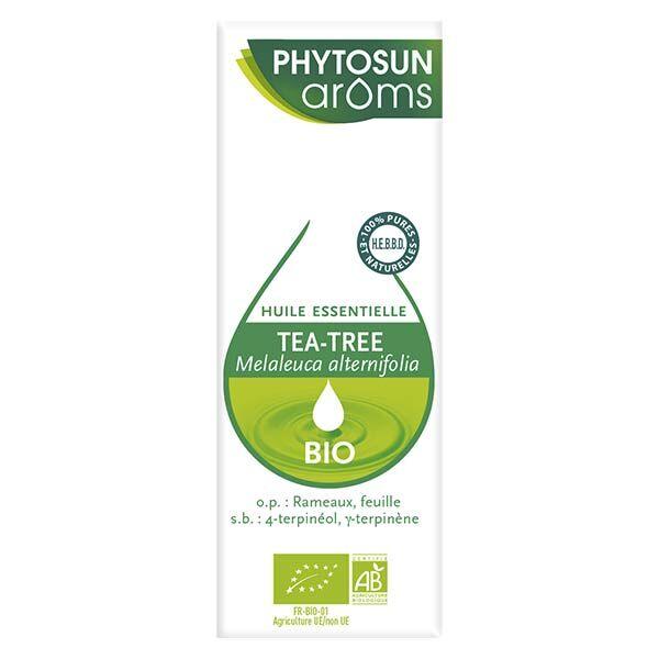 Phytosun Arôms Huile Essentielle Tea Tree Bio 10ml