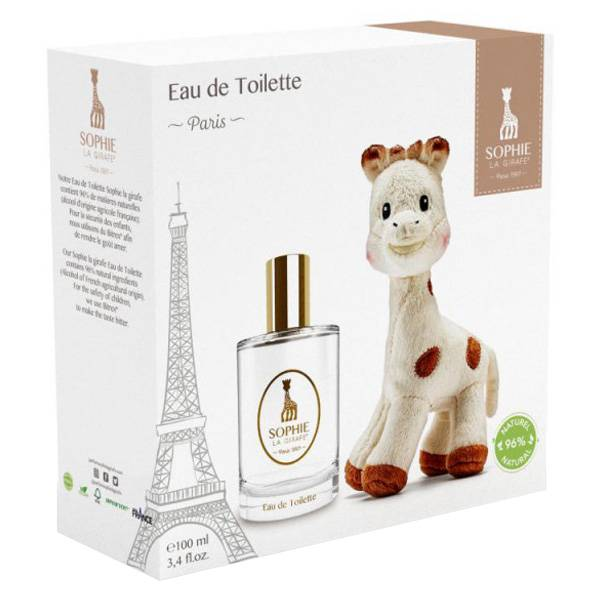 Sophie la Girafe Coffret Eau de Toilette 100ml + Peluche Ultra Douce Offerte