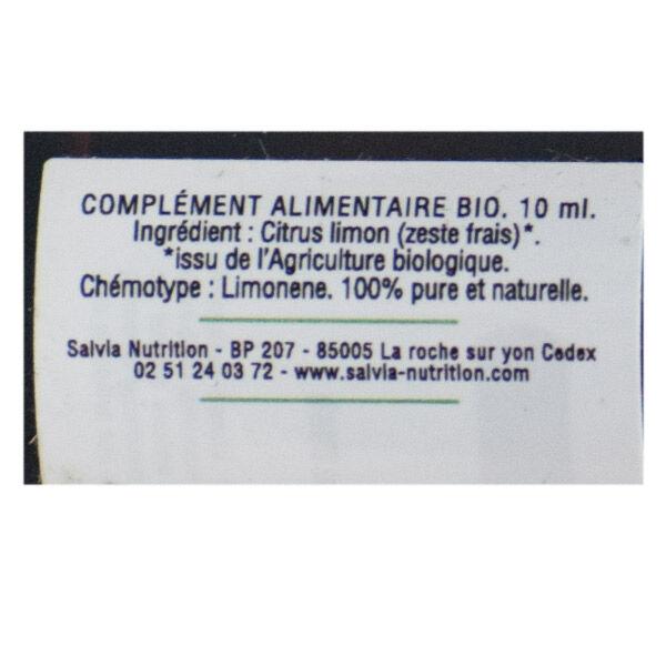 Salvia Huile Essentielle Bio Citron 10ml