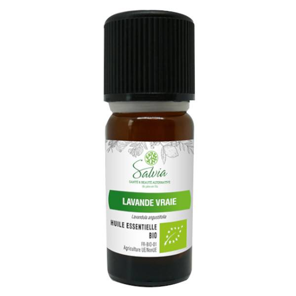 Salvia Huile Essentielle Bio Lavande Vraie 10ml