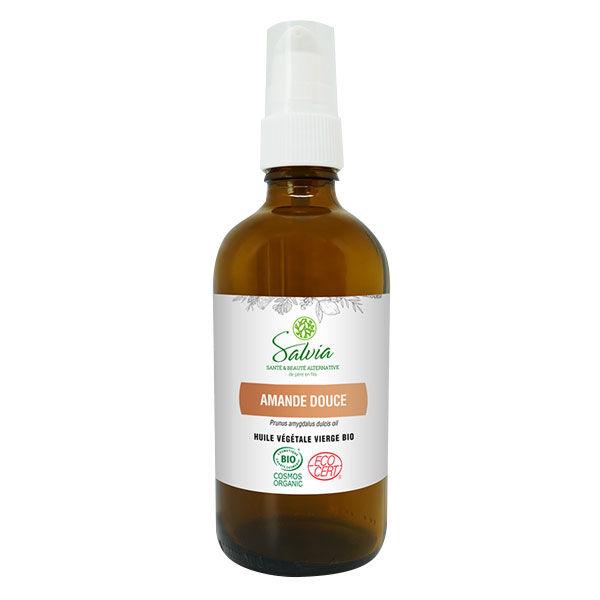 Salvia Huile Végétale D'Amande Douce Bio 100ml