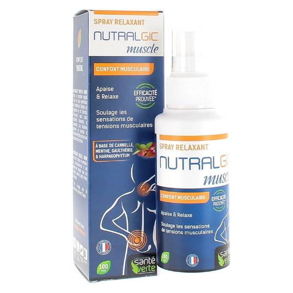 Santé Verte Nutralgic Muscles Spray 100ml