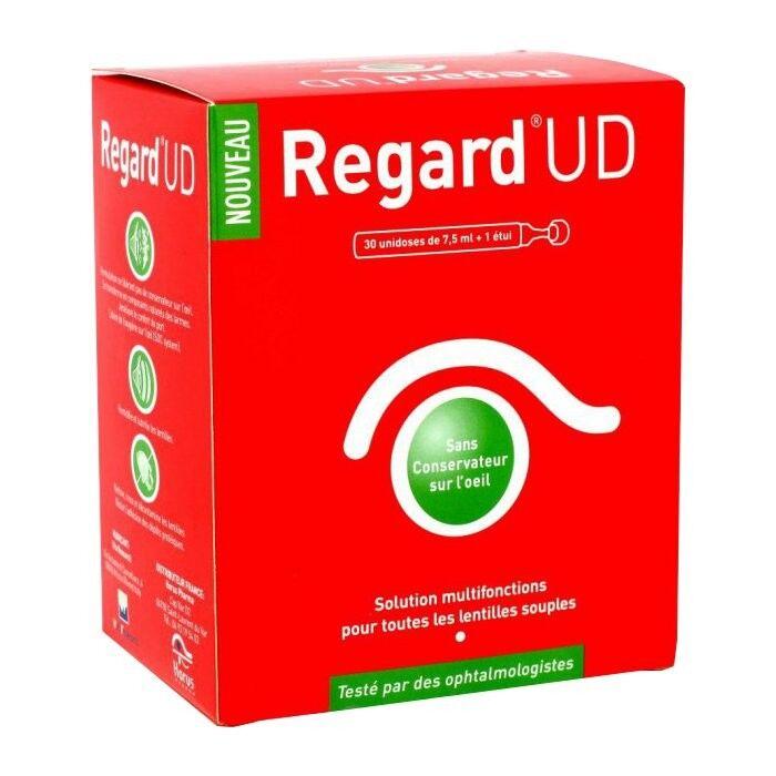Horus Pharma Regard UD Solution d'Entretien pour Lentilles Souples 30 unidoses x 7,5ml + étui