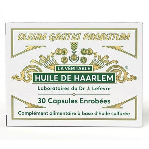 Lefevre La Véritable Huile de Haarlem 30 capsules enrobées