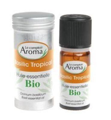 Le Comptoir Aroma Huile Essentielle Basilic Tropical 10ml