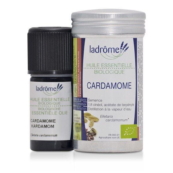 Ladrome Ladrôme Huile Essentielle BIO Cardamome 5ml