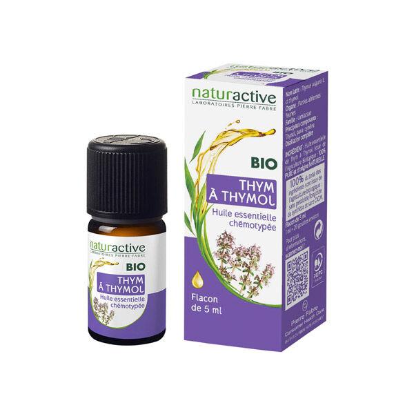 Naturactive Huile Essentielle Bio Thym à Thymol 5ml