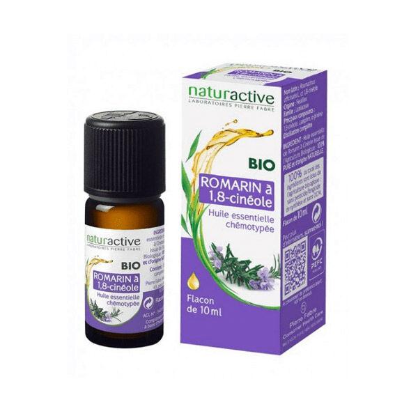 Naturactive Huile Essentielle Bio Romarin A 1,8 Cinéole 10ml